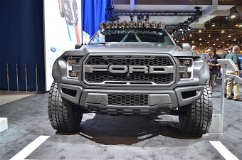 GRAVITY® LED PRO6 LED LIGHT BAR для Ford F-150| Ford Rapto #91311